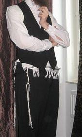 帶有繸子的猶太人裡衣