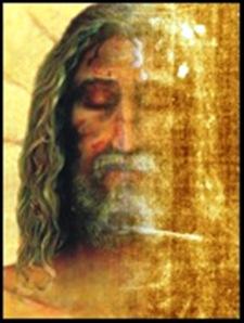 裹尸布上的耶穌面容