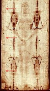 都靈裹尸布上的布帶