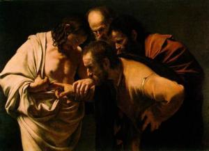 多馬探入耶穌的肋旁